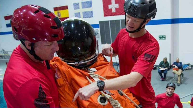 Emergency rescue plan in place fro NASA astronauts