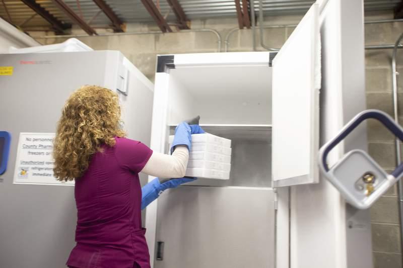 Orange County received a new shipment of Pfizer's coronavirus vaccine (Orange County Government)