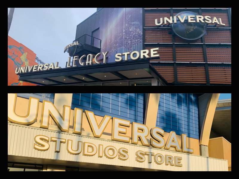 Universal CityWalk store and Universal Legacy Store