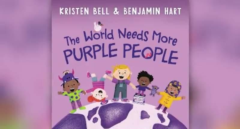 """The World Needs More Purple People"" (Credit: CNN Newsource)"