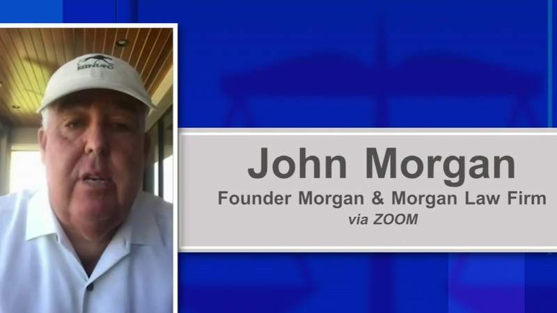John Morgan offers to recoup $77M Florida paid for troubled unemployment system