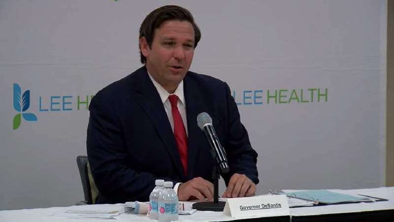 Gov. DeSantis, DEO issue conflicting information about requirements