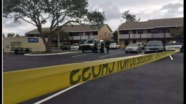 A fatal shooting is investigated in Melbourne.