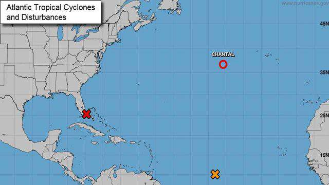 Update from the National Hurricane Center on Friday, Aug. 23, 2019. (Image: NHC)