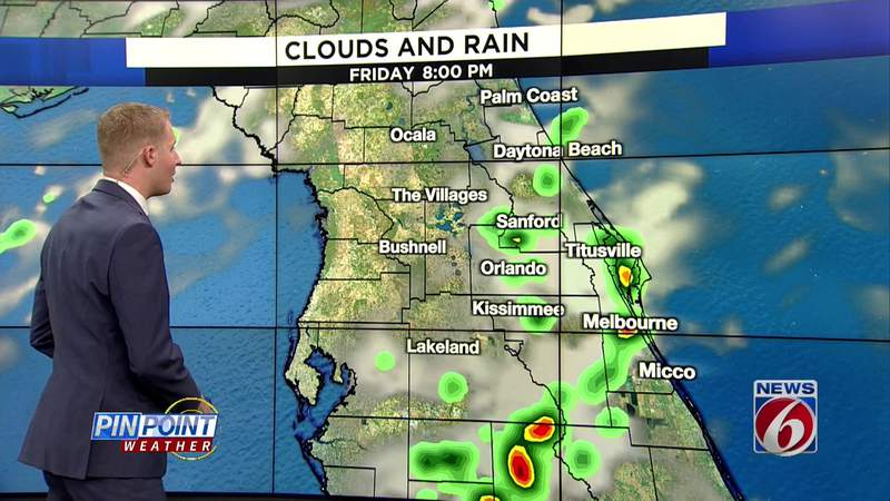 High heat, scattered storms in weekend forecast
