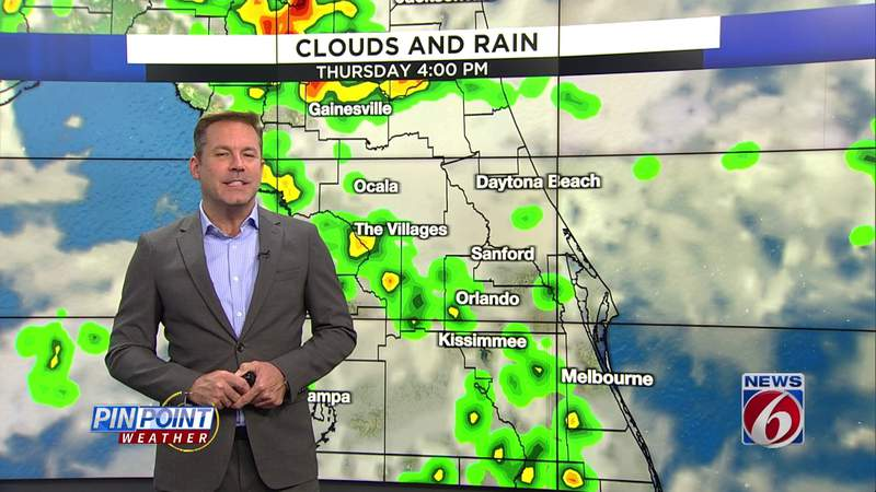 More storms coming to Central Florida