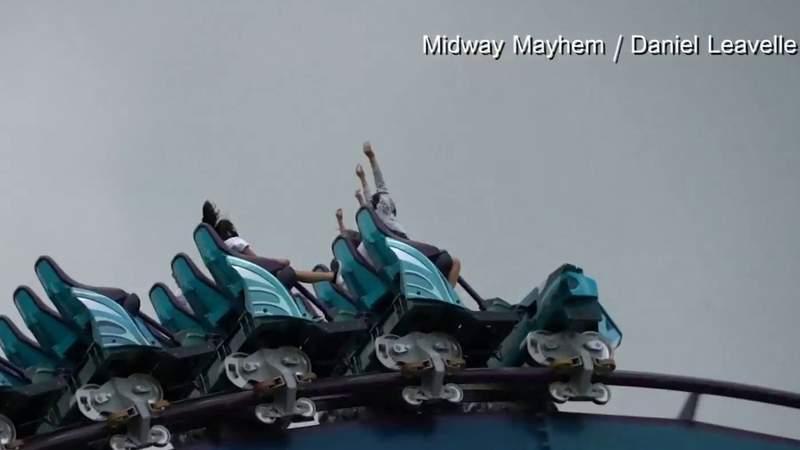 Photos, video show riders wearing masks during tests on SeaWorld Orlando's Mako coaster