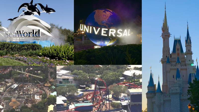 News 6 takes a look at whats been happening at Central Florida theme parks during the coronavirus pandemic