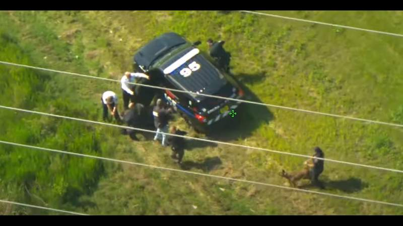VIDEO: Man steals 2 police cruisers in Volusia County pursuit