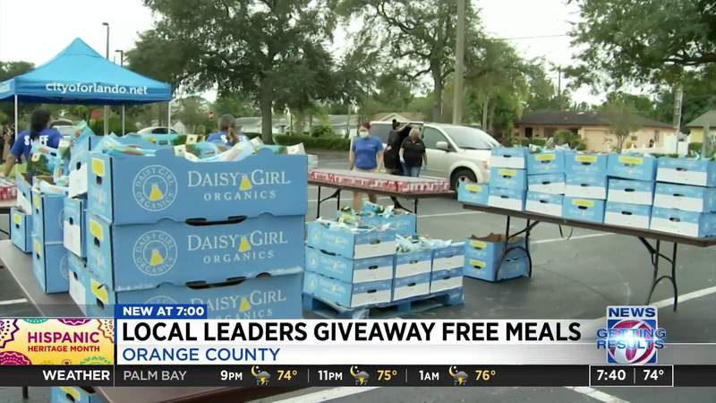 local Leaders giveaway free meals