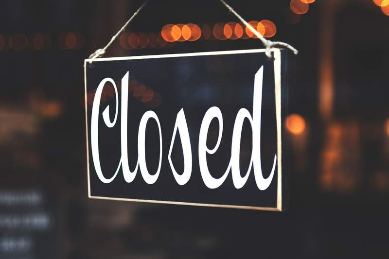 Did your business have to close due to COVID-19?