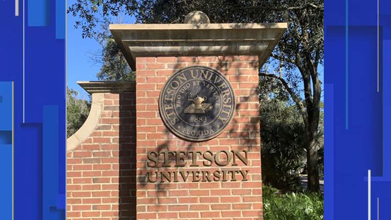 A Stetson University medallion was stolen from campus and officers with the DeLand Police Department are asking for help from the public to find it.