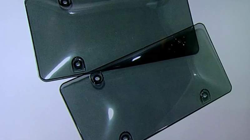 Ask Trooper Steve: Clear covers for license plates OK?