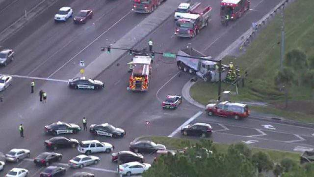 A double fatal crash is investigated in Kissimmee.