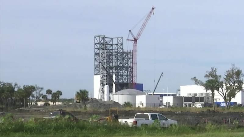 GF Default - Blue Origin?s New Glenn launch pad taking shape at Cape Canaveral