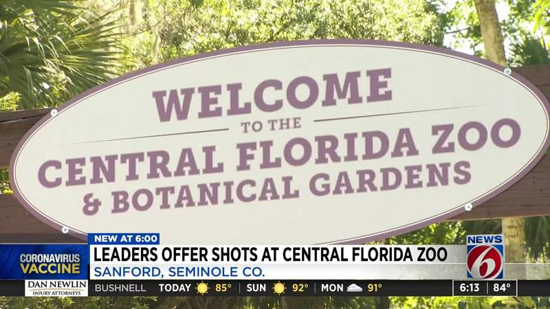 Leaders offer shots at Central Florida Zoo