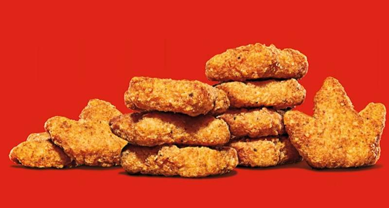 Burger King's crown-shaped nuggets are back on select menus. (CNN Newsource)