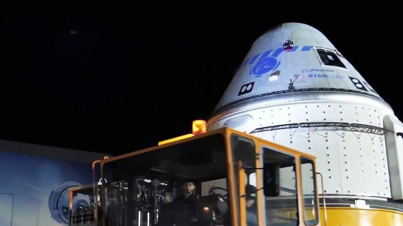 Teams prepare Starliner spacecraft for second rendezvous attempt with International Space Station