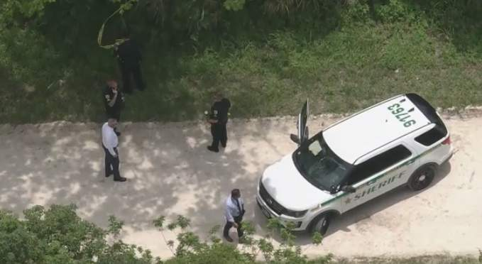 The Brevard County Sheriff's Office said a body was found Wednesday morning.
