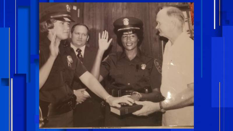 Alice Faison is the Ocala Police Department's first Black, female police officer
