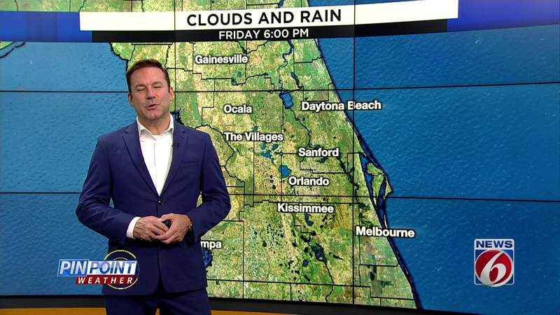 Southern comfort: Central Florida sees break from sweltering heat