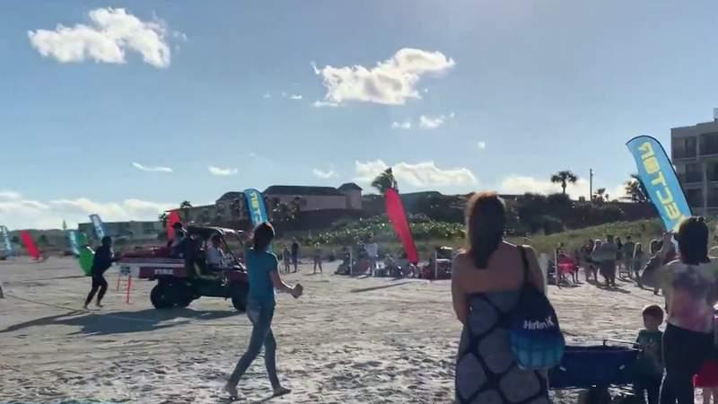 GF Default - Skydiving Santa hurt in hard landing on Cocoa Beach