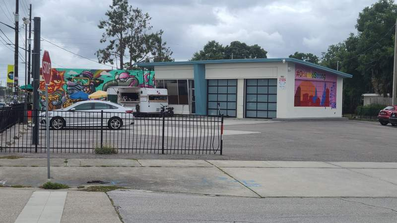 Future site of Pigzza at the corner of Mill Avenue and Oregon Street in Orlando