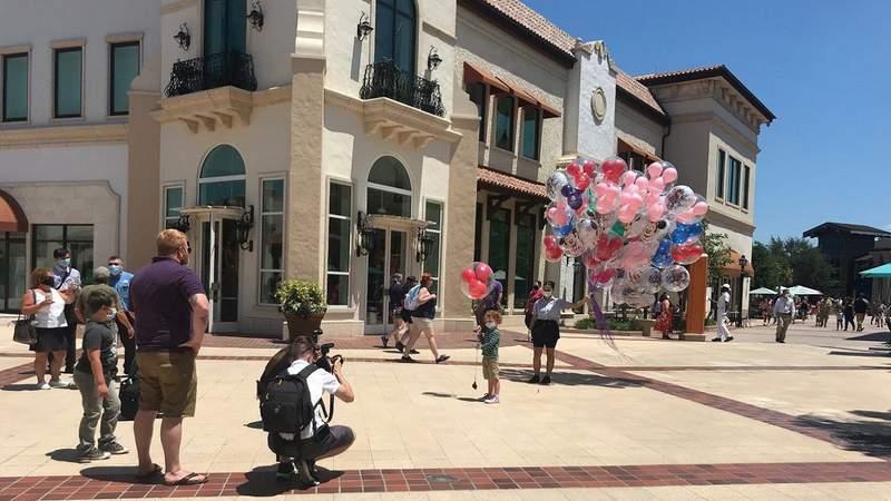 Disney Springs partially reopens after coronavirus pandemic closure