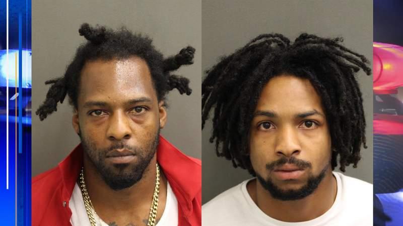 (Left) Keyonte Dorch, 30 (Right) Demordrick Pearson, 19