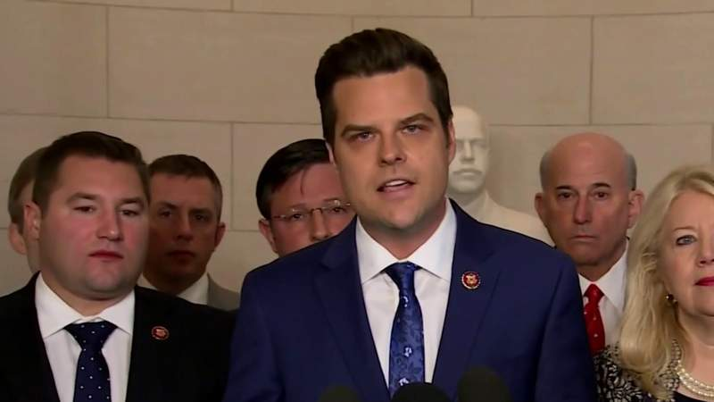 Rep. Matt Gaetz faces probe by House ethics over potential misconduct