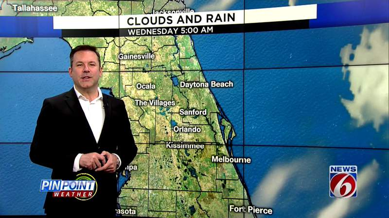 90s linger for a few hot days in Central Florida