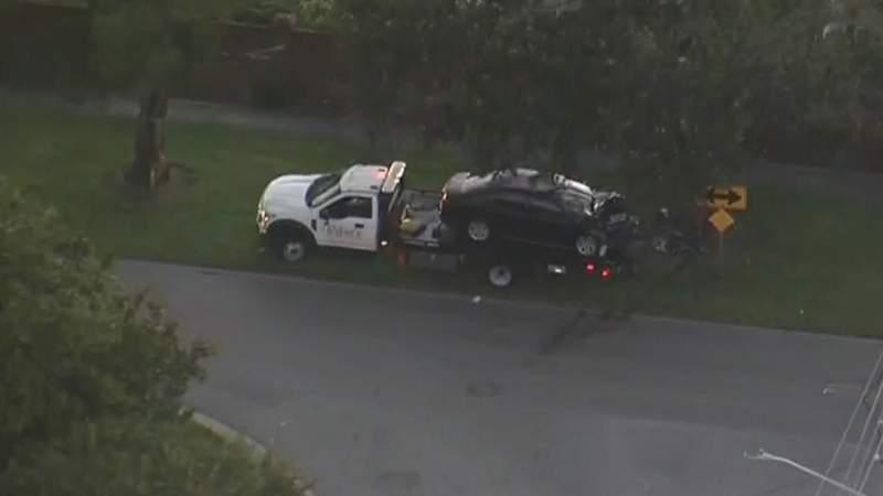 A man was killed when a car struck a tree in Orange County.