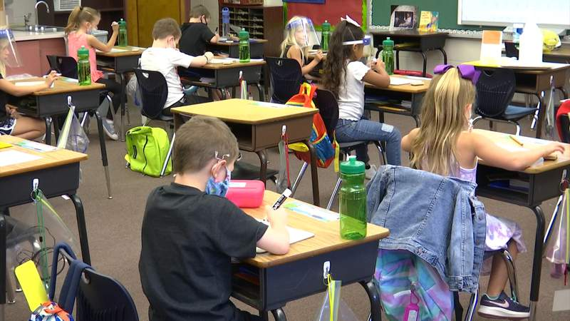 About 70% of Marion County students returned to campuses on Aug. 24, 2020. (Image:WKMG)