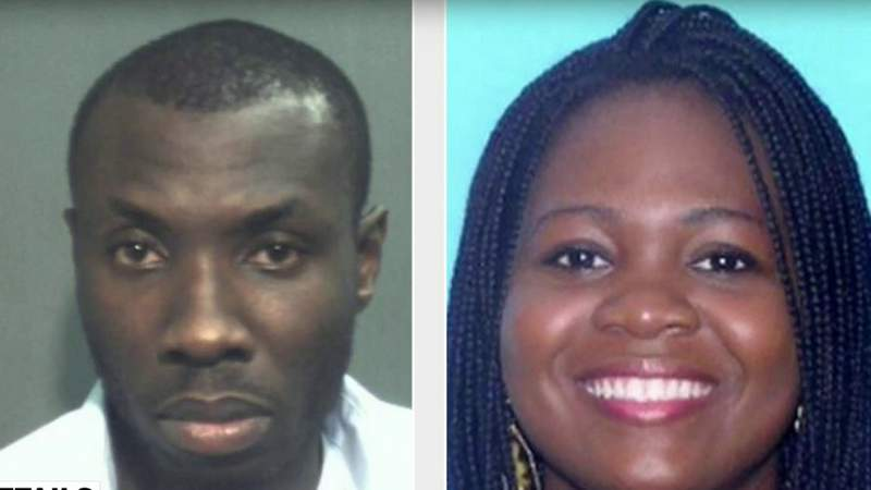 Man arrested in fatal shooting of wife outside Navy Federal Credit Union in Orlando