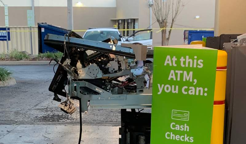The Hillsborough County Sheriff's Office is investigating an ATM explosion.