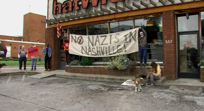 Nashville store apologizes for Star of David anti-vax badges