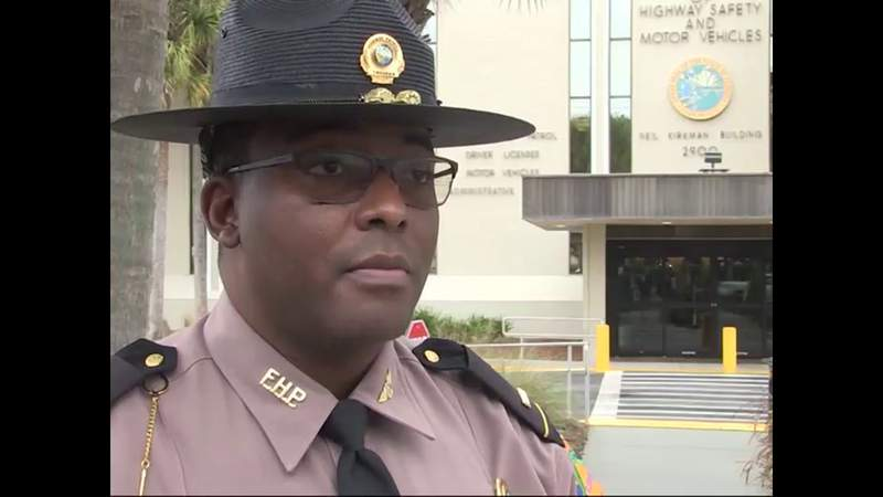 Law enforcement officers crack down on texting and driving in Florida