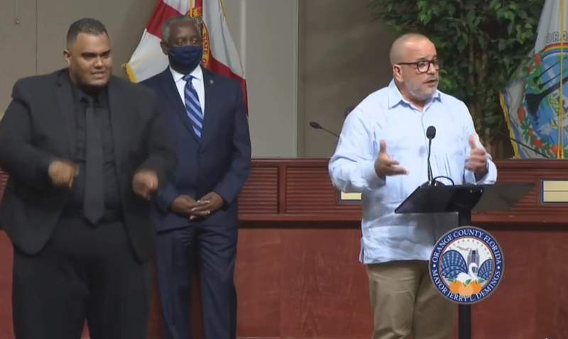 Orange County Health Officer Dr. Raul Pino said local officials are working to recruit 100 people for contact tracing to limit the spread of COVID-19.