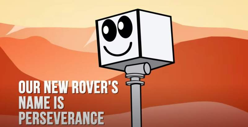 Meet Perseverance and learn more about its martian mission in NASA's trailer. (NASA)