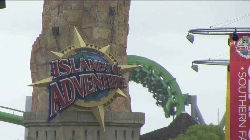 Universal Orlando parks now operating at full capacity