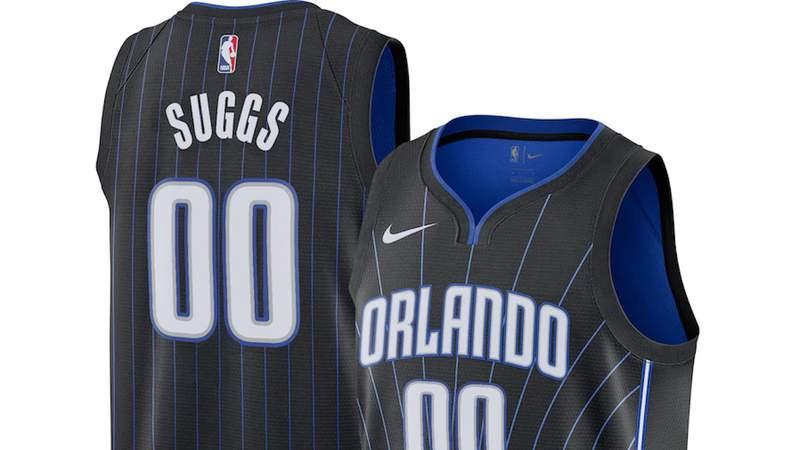 Jalen Suggs Orlando Magic jersey