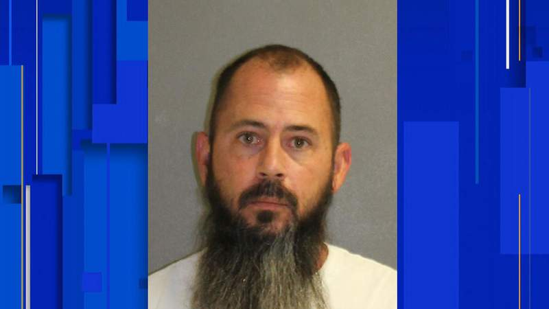 Damian DeRousha, 43, of Edgewater, is accused of shooting a 31-year-old man on Feb. 4, 2021.