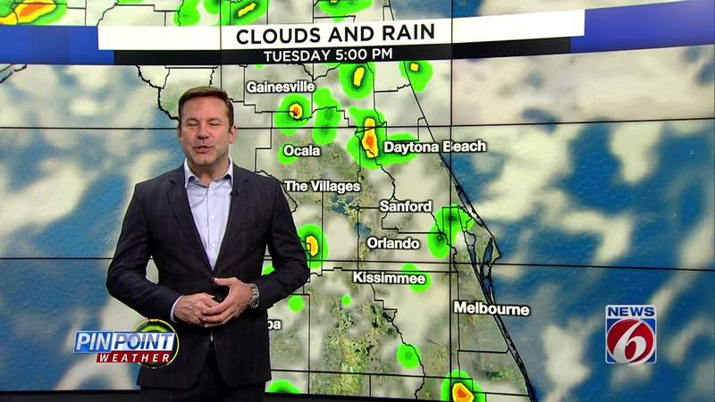 High heat, some rain in Central Florida
