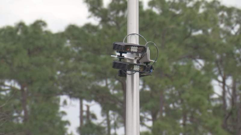 License plate readers at the University of Central Florida