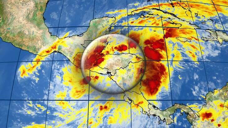 Satellite image for Eta.