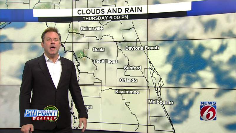 Sunny, warm day on tap in Central Florida