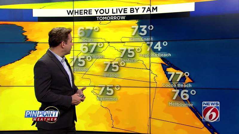 Weekend forecast for Central Florida