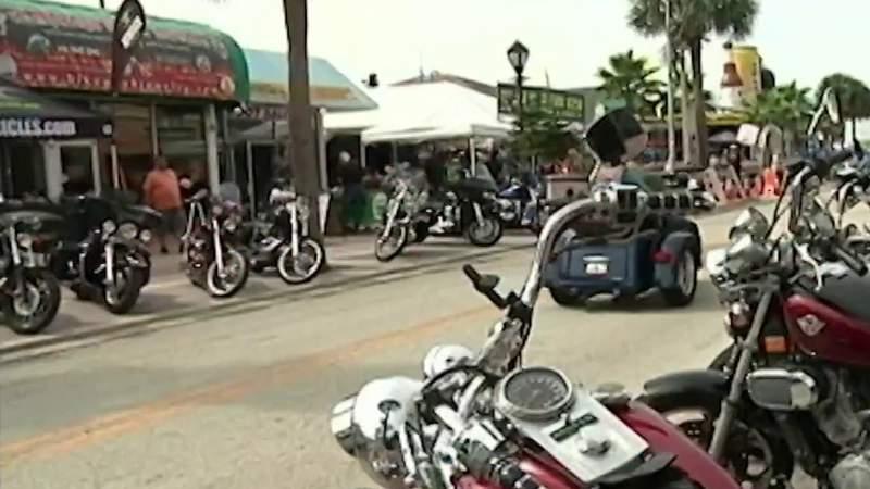 Bikers descend on Daytona on eve of Biketoberfest