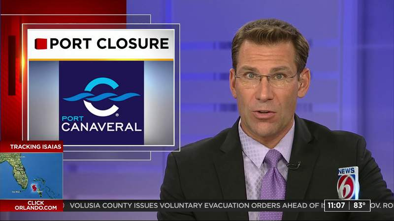 Port Canaveral closed ahead of Isaias
