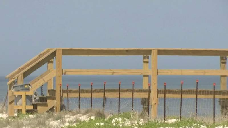 Flagler Beach dune walkovers closed until further notice after storm damage